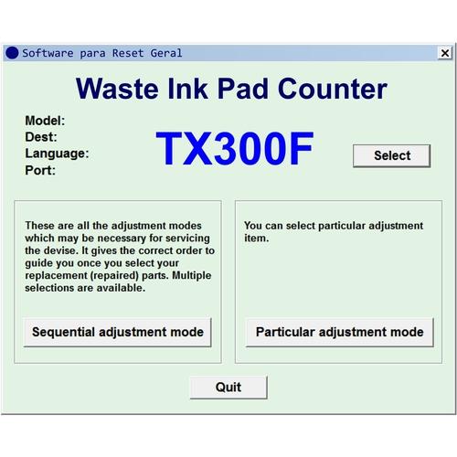 Utilitários - Impressoras, Reseters, Manuais, Transfer e Sublimação