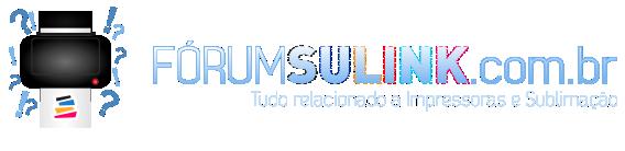 Fórum Sulink - Impressoras, Plotters de Recorte, Personalização e Sublimação