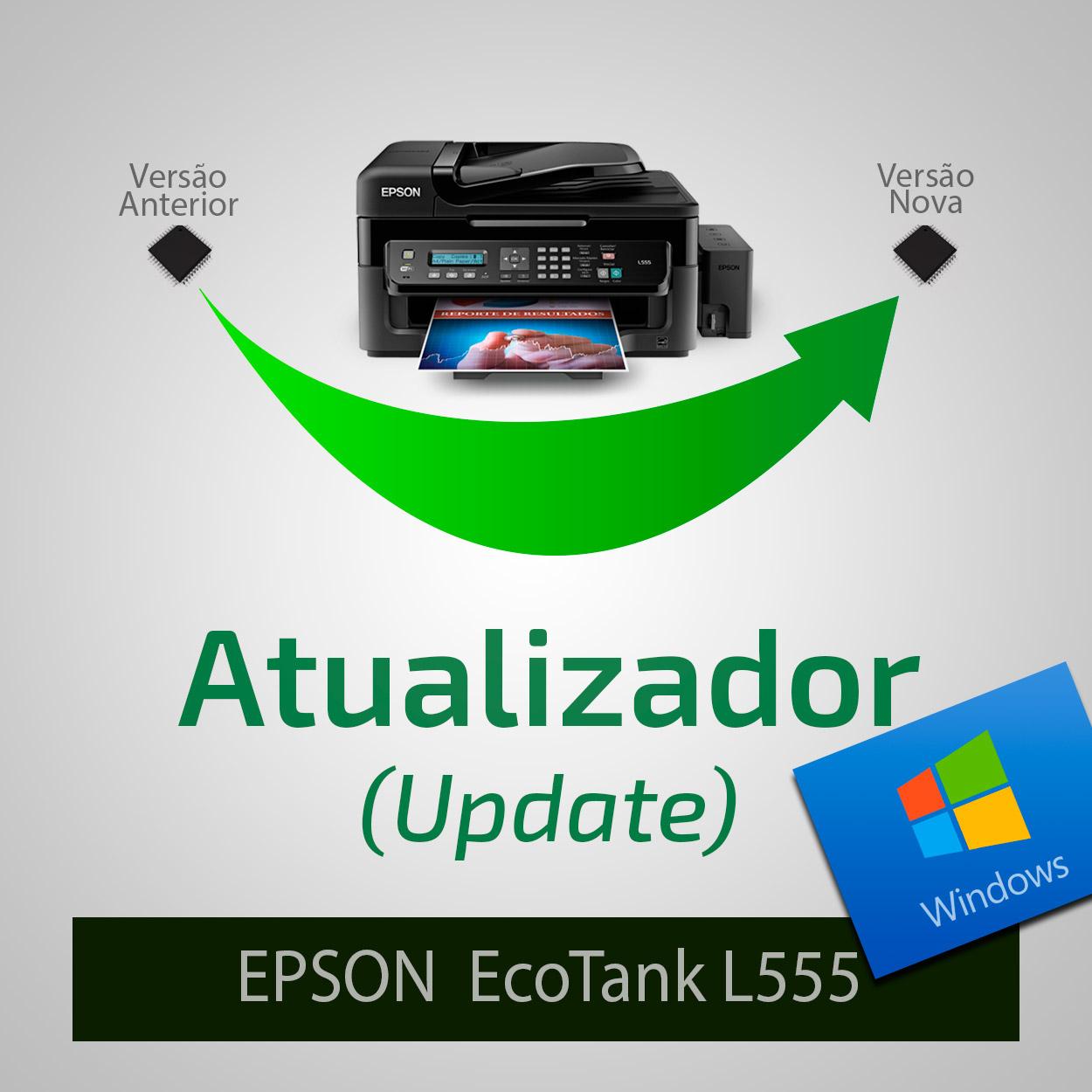 Epson L550, L555 - Recovery Firmware - Firmware de Recuperação