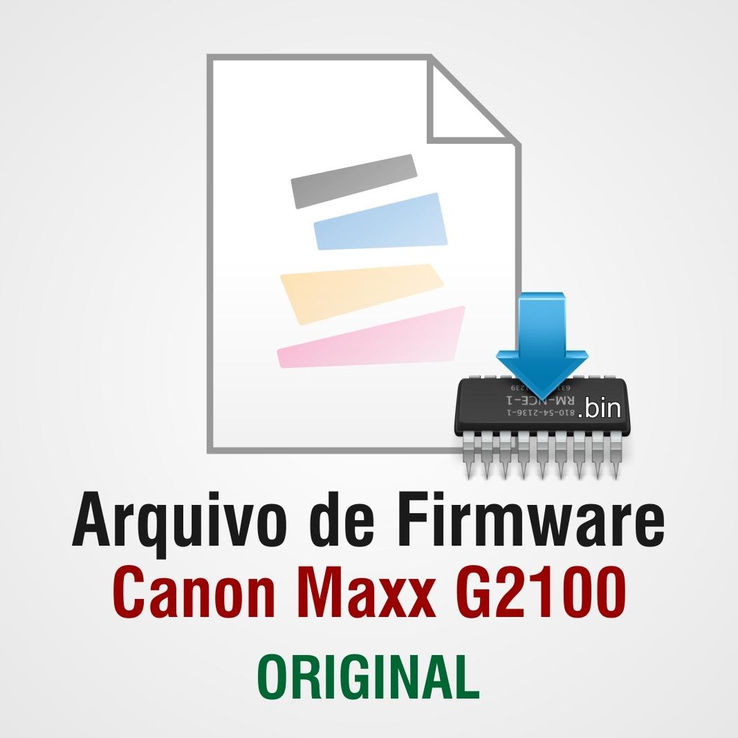 Firmware Canon G2100 (QM7-4570 / QM4-4438) - Original  (Arquivo Eeprom .bin)
