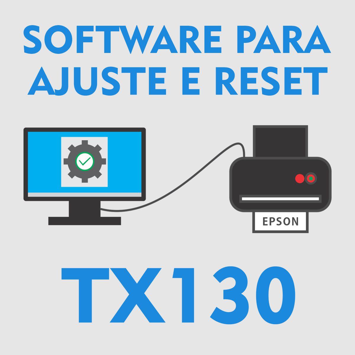 EPSON TX130 | SOFTWARE PARA AJUSTES E RESET DAS ALMOFADAS