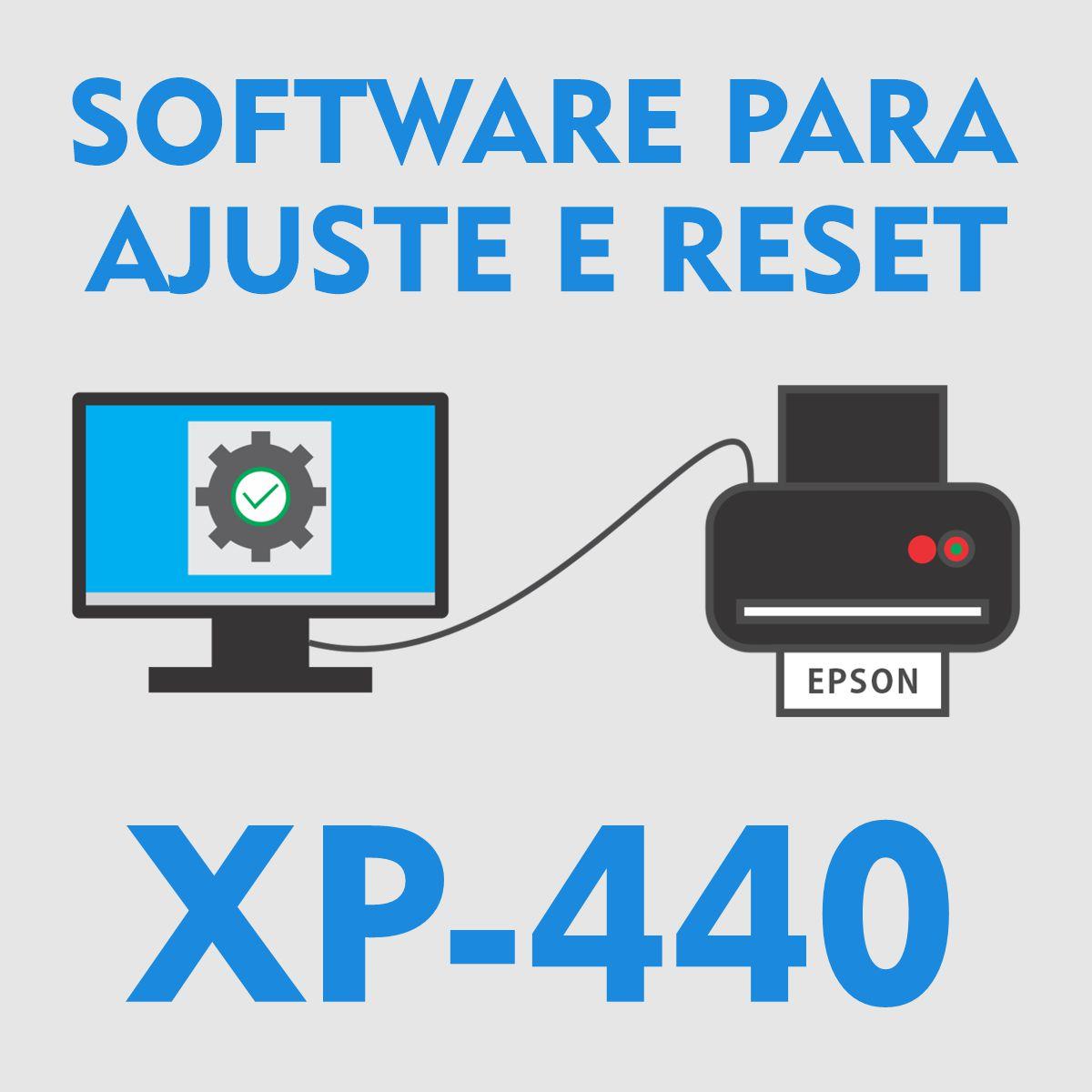 EPSON XP-440 | SOFTWARE PARA AJUSTES E RESET DAS ALMOFADAS
