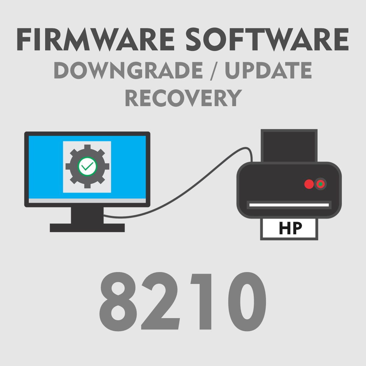 HP 8210 | Software Firmware para Downgrade Update Recovery