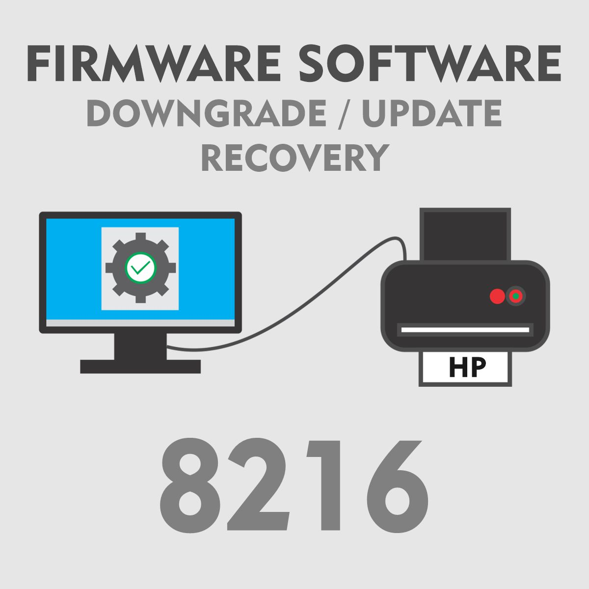 HP 8216 | Software Firmware para Downgrade Update Recovery