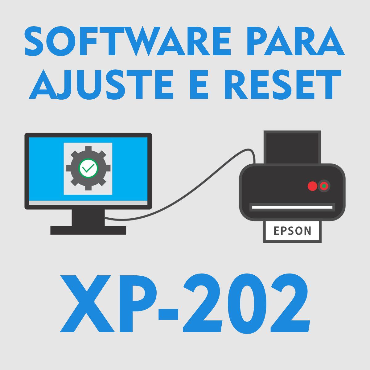 Epson XP-202 | Software para Ajustes e Reset das Almofadas