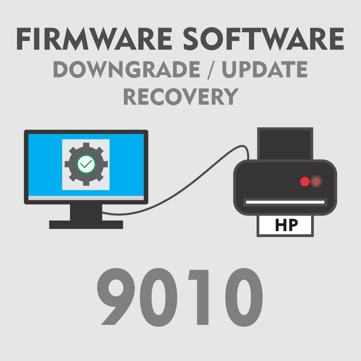 HP 9010   Software Firmware para Downgrade Update Recovery